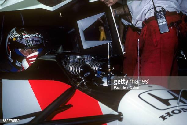 Gerhard Berger McLarenHonda MP4/7A Grand Prix of Portugal Autodromo do Estoril 27 September 1992