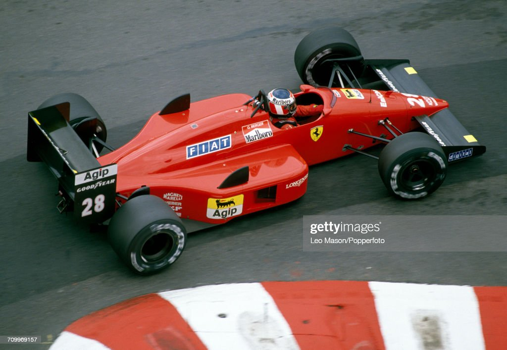 Formula One Grand Prix - Gerhard Berger : News Photo