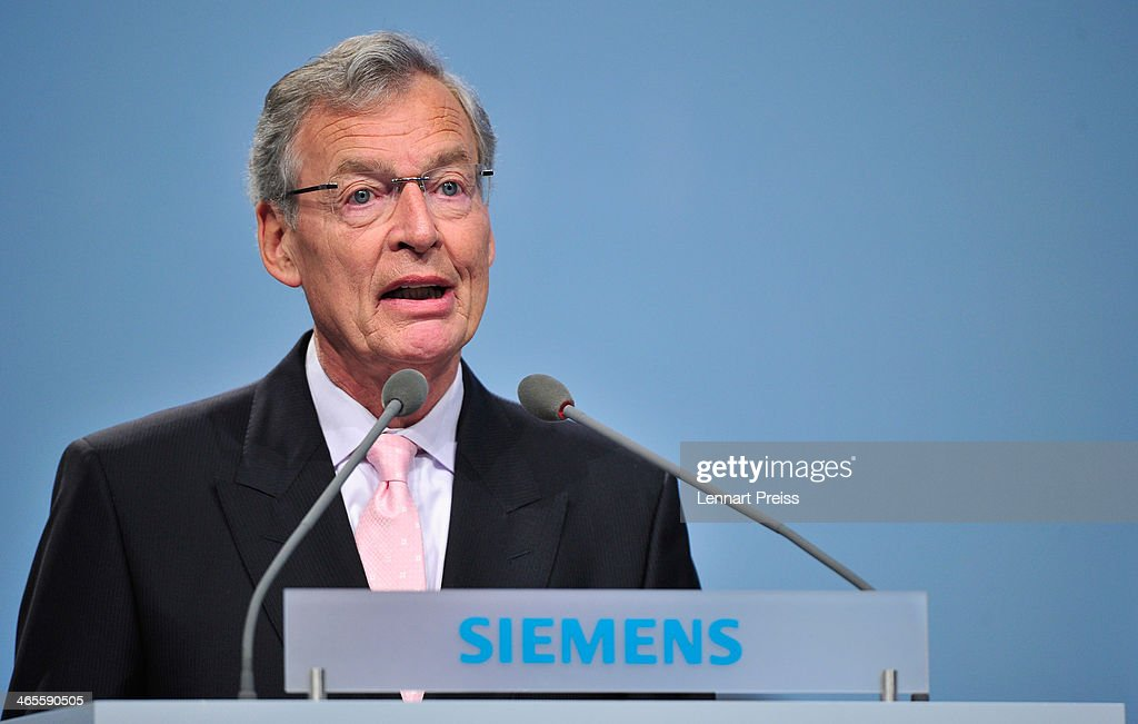 Siemens Holds Annual Shareholder's Meeting