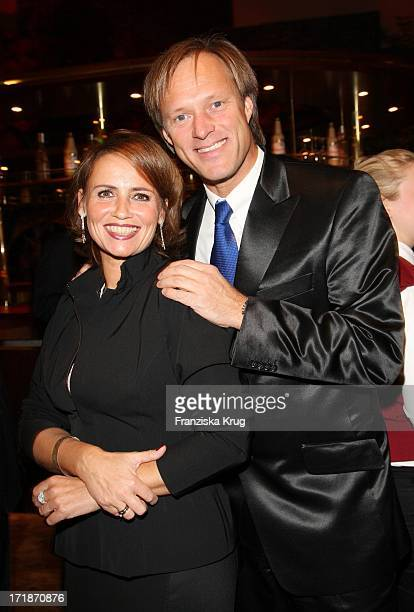 Gerhard Delling and wife Isabelle Delling At Event Prominent #39favor underreporting EV at the Grand Elysee in Hamburg