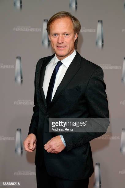 Gerhard Delling attends the German Television Award at Rheinterrasse on February 2 2017 in Duesseldorf Germany