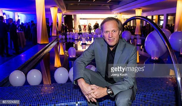 Gerhard Delling during the ARD advent dinner hosted by the program director of the tv station Erstes Deutsches Fernsehen at Hotel Bayerischer Hof on...