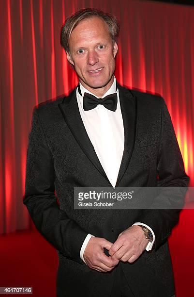Gerhard Delling during the Goldene Kamera 2015 reception on February 27 2015 in Hamburg Germany