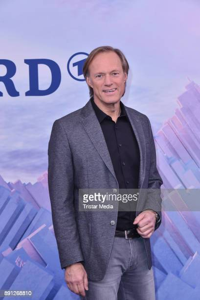 Gerhard Delling during the Olympia Press Conference on December 12 2017 in Berlin Germany