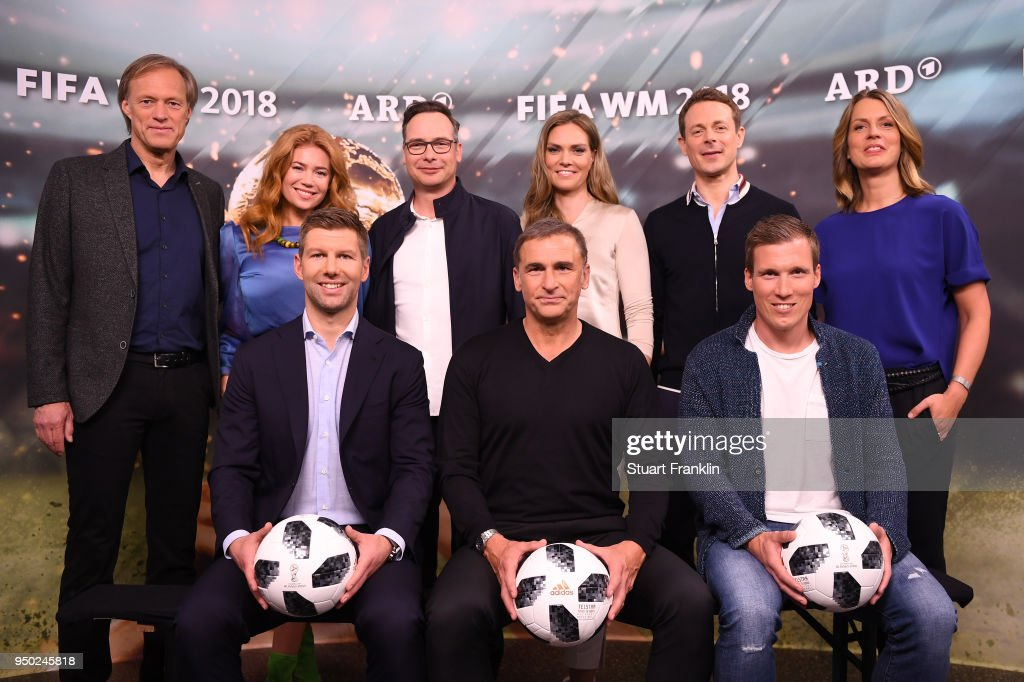 ARD And ZDF Present Their Team For The 2018 FIFA World Championship Russia : ニュース写真