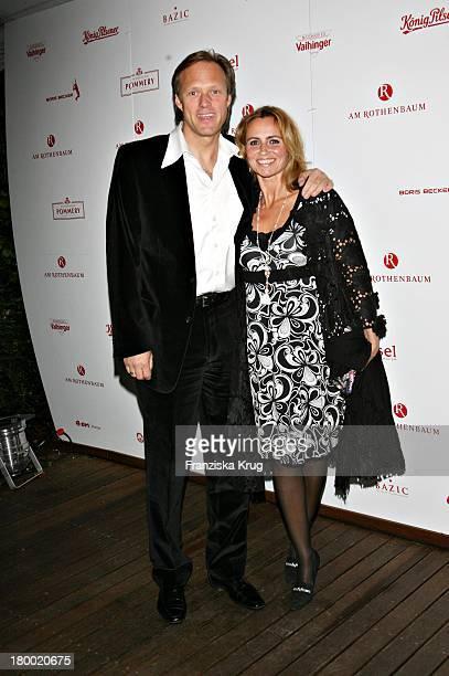 Gerhard Delling Und Ehefrau Isabelle Bei Der Players Night Am Rande Der Atp Tennis Masters In Der Insel In Hamburg Am 160507