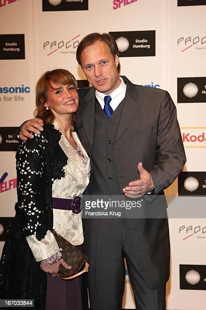 Gerhard Delling Und Ehefrau Isabelle Beim Studio Hamburg Nachwuchspreis Bei Studio Hamburg In Hamburg