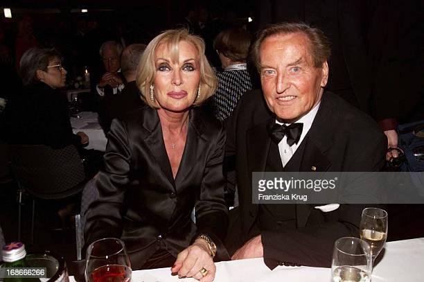 Gerhard MayerVorfelder and wife Margit Ball Of Sports In Frankfurt Am 020202