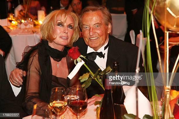 Gerhard MayerVorfelder and wife Margit In 24th German Sports Press Ball In The Old Opera House in Frankfurt