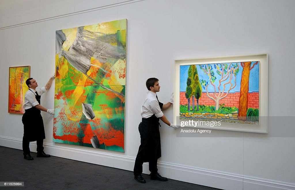 Richter Garten sotheby's frieze week in london pictures | getty images