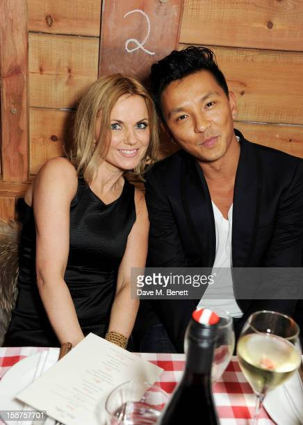 Geri Halliwell and designer Prabal Gurung attend as Elizabeth Saltzman hosts a private dinner celebrating the launch of Piers Adam's new restaurant...