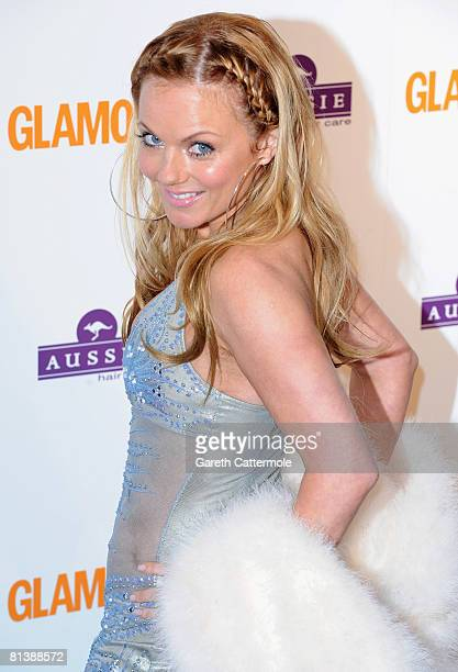 Geri Halliwell arrives at the Glamour Woman Of The Year Awards on June 3, 2008 in London, United Kingdom