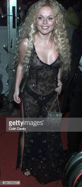 Geri Halliwell arrives at the MTV Europe Music Awards, Point Theatre, Docklands, Dublin, Ireland, 11th November 1999.