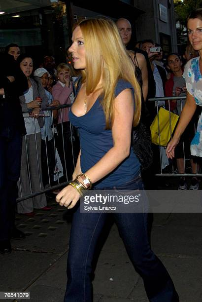 Geri Halliwell at the Virgin Unite Campaign to End Fistula Celebrity Bowl Off September 5, 2007 at All Star Lanes in London, England.