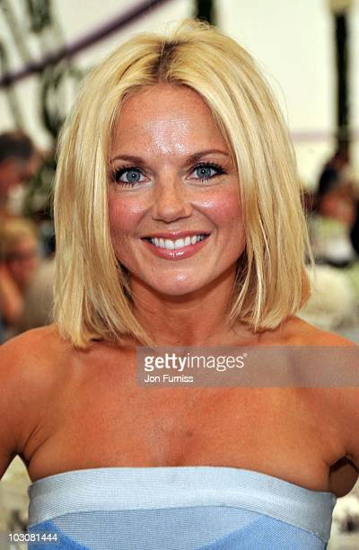 Geri Halliwell attends the Cartier International Polo Day at Guards Polo Club on July 25, 2010 in Egham, England.