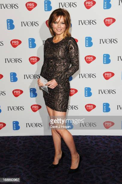 Geri Halliwell attends the Ivor Novello Awards 2013 at The Grosvenor House Hotel on May 16 2013 in London England