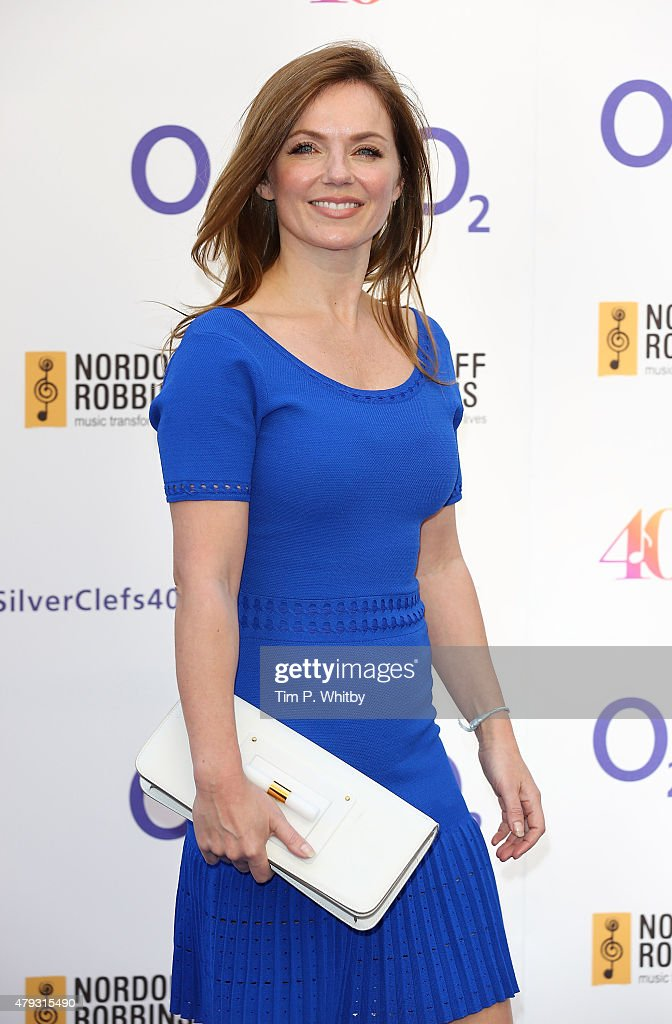 geri halliwell attends the nordoff robbins 02 silver clef awards at the grosvenor house hotel on - Silver Hotel 2015