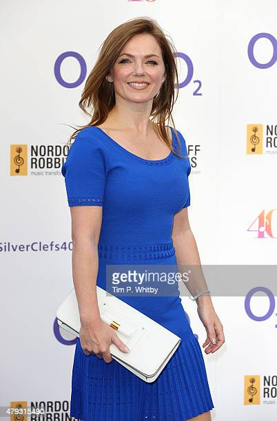 Geri Halliwell attends the Nordoff Robbins 02 Silver clef Awards at The Grosvenor House Hotel on July 3 2015 in London England