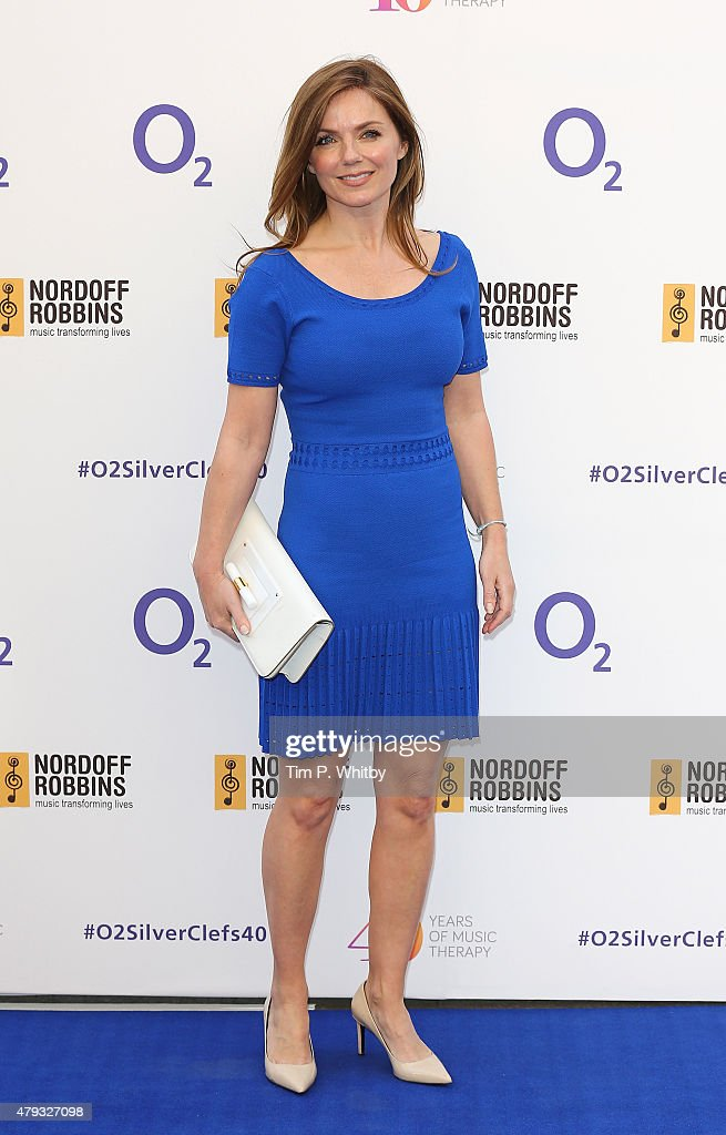 Geri Halliwell attends the Nordoff Robbins 02 Silver clef Awards at The Grosvenor House Hotel on July 3, 2015 in London, England.