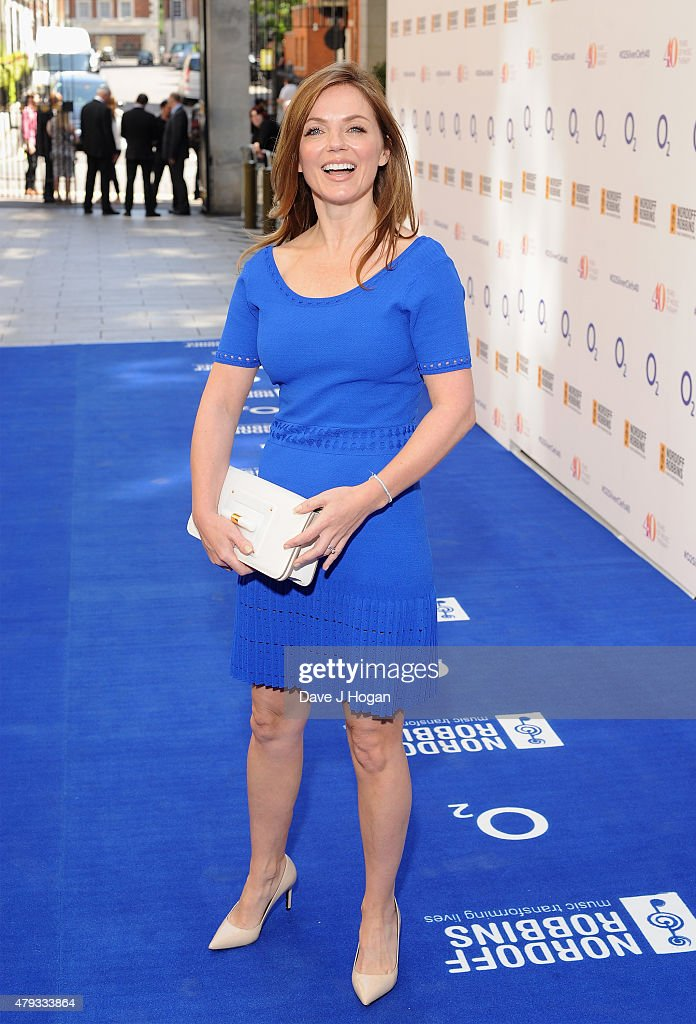 geri halliwell attends the nordoff robbins o2 silver clef awards at the grosvenor house hotel on - Silver Hotel 2015