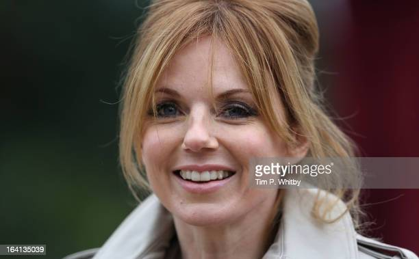 Geri Halliwell attends the opening of London Zoo's new Tiger Territory a 36GBP million project to house Sumatran tigers Jae Jae and Melati at ZSL...