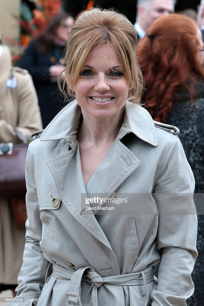 Geri Halliwell attends the opening of London Zoo's new Tiger Territory on March 20, 2013 in London, England.
