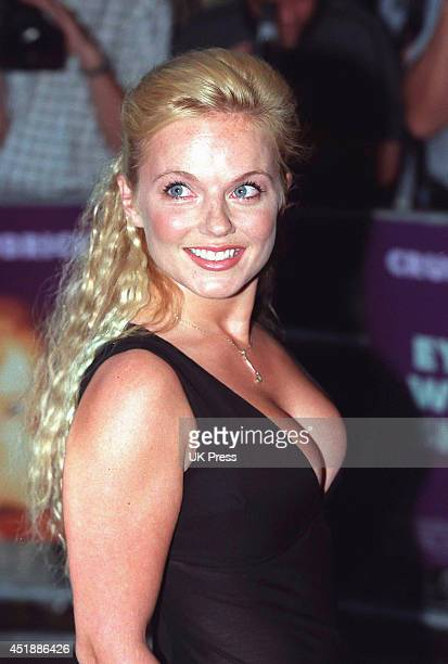 KINGDOM SEPTEMBER 3 Geri Halliwell attends The Premiere of Eyes Wide Shut at The Warner West End Cinema on September 3 1999 in London United Kingdom