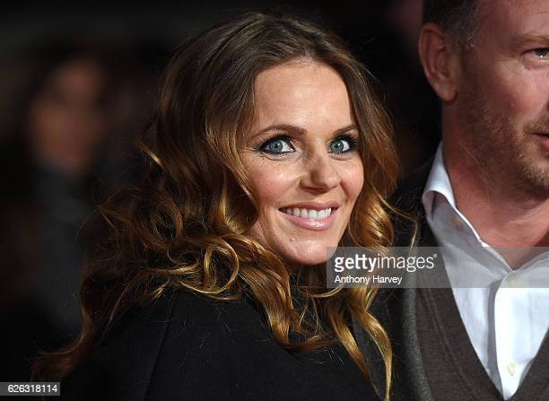 Geri Halliwell attends the World Premiere of I Am Bolt at Odeon Leicester Square on November 28 2016 in London England