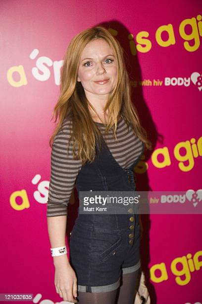 Geri Halliwell during Body and Soul Charity Concert Inside Arrivals at KoKO Club in London London Great Britain
