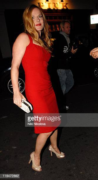 Geri Halliwell during David Beckham's 32nd Birthday Party at Cipriani's in London May 2 2007 at Cipriani Reaturant in London Great Britain