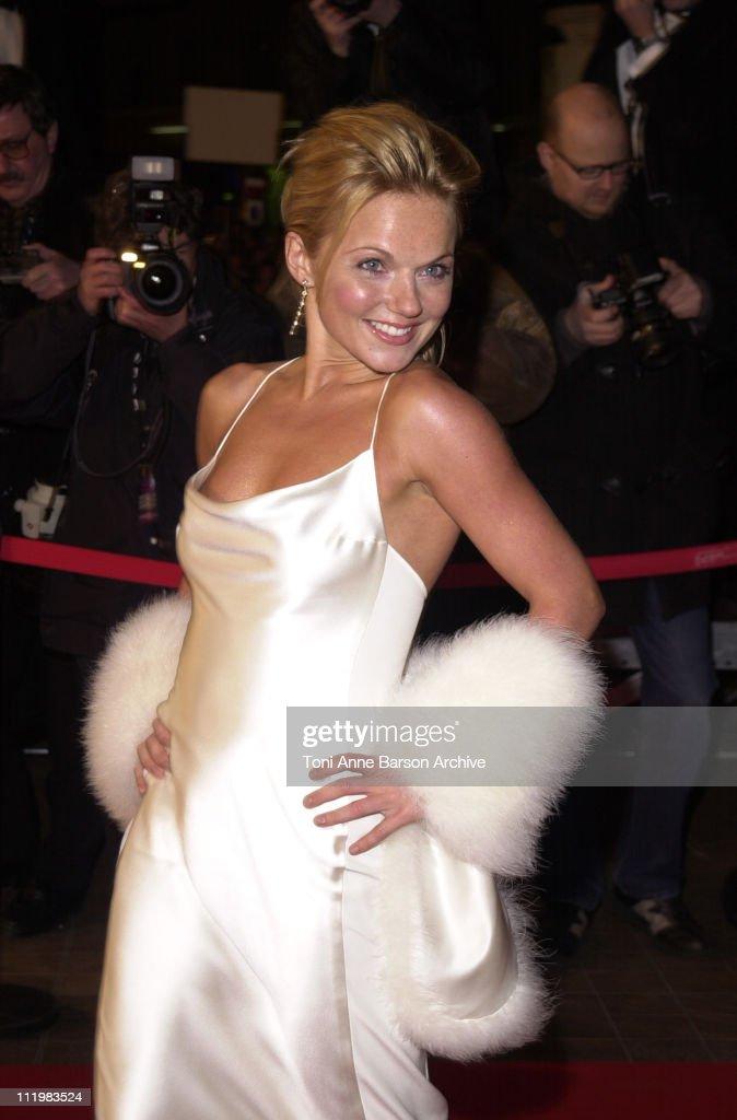 Geri Halliwell during NRJ Music Awards 2002 - Arrivals at Palais des Festivals in Cannes, France.