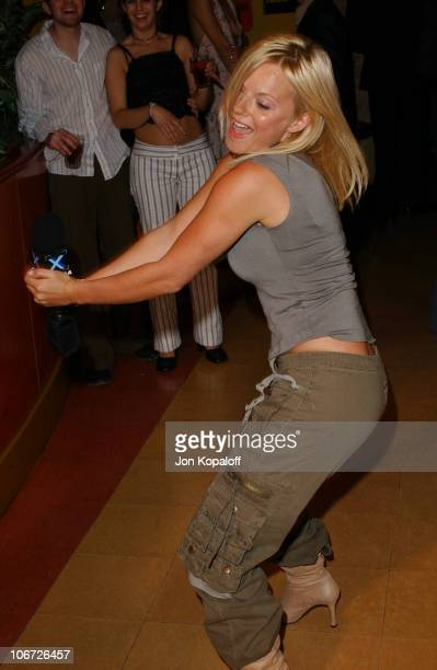 Geri Halliwell during Playstation 2 Hosts the Movieline Young Hollywood Awards After-Party in Los Angeles, California, United States.