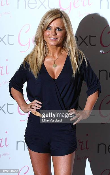 Geri Halliwell launches her new Next swimwear collection at The Savoy Hotel on January 28 2011 in London England