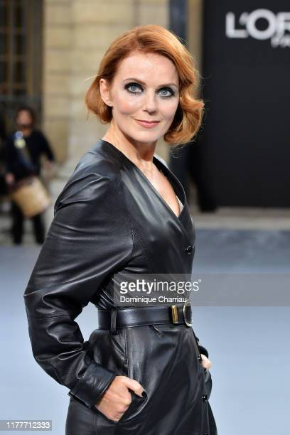 "Geri Halliwell walks the runway during the ""Le Defile L'Oreal Paris"" Show as part of Paris Fashion Week on September 28, 2019 in Paris, France."