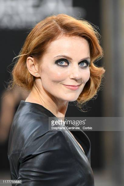 """Geri Halliwell walks the runway during the """"Le Defile L'Oreal Paris"""" Show as part of Paris Fashion Week on September 28, 2019 in Paris, France."""