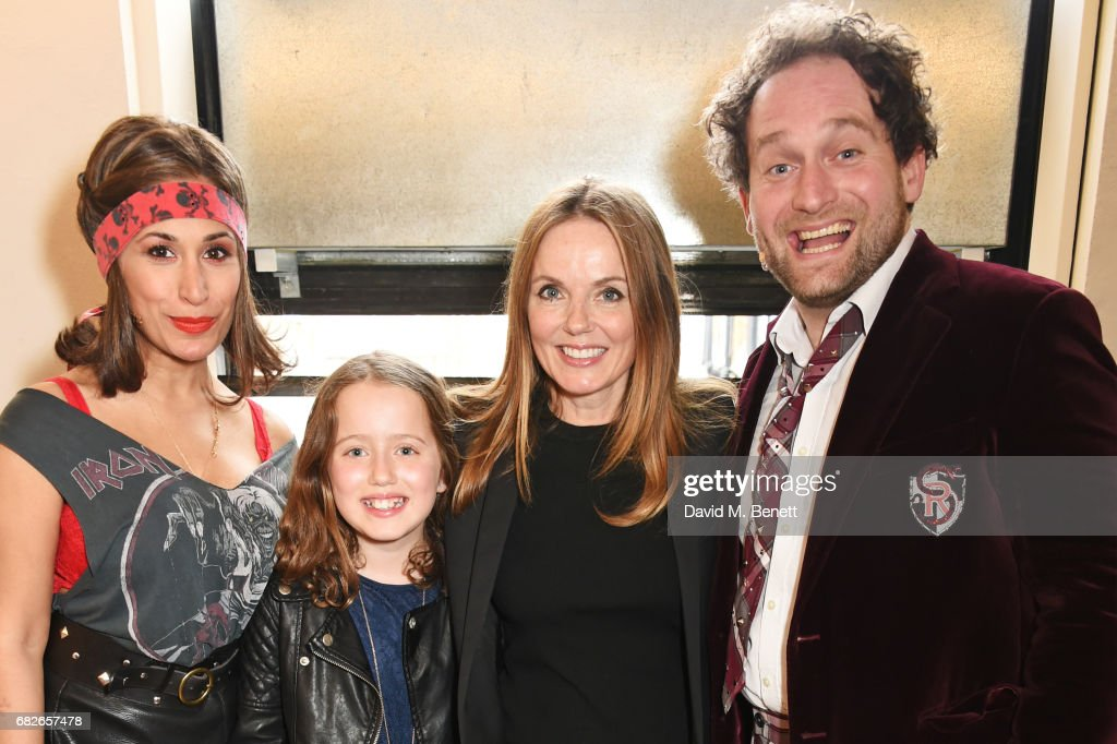 "Geri Horner Visits The West End Production Of ""School Of Rock: The Musical"" : News Photo"