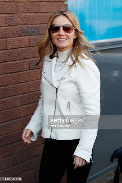 Geri Horner arriving at a dance studio for Spice Girls tour rehearsals on April 15 2019 in London England