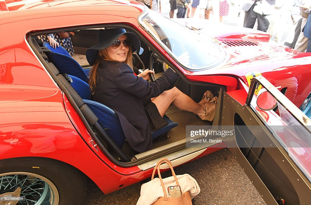 Geri Horner attends day 3 of the Goodwood Revival at Goodwood on September 11, 2016 in Chichester, England.