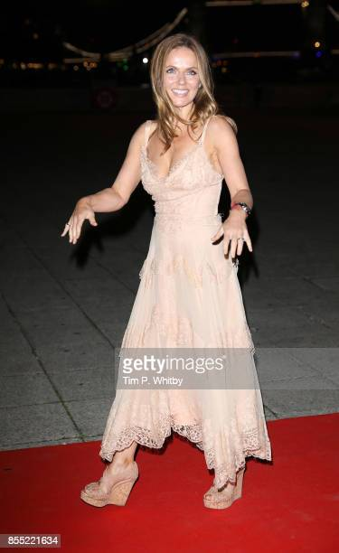 Geri Horner attends the Britain's Got Talent Childline Ball at Old Billingsgate Market on September 28 2017 in London England