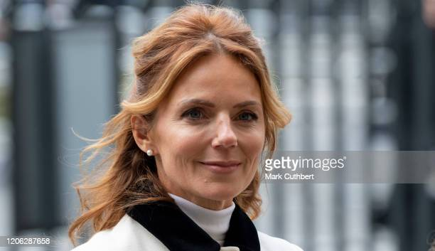Geri Horner attends the Commonwealth Day Service 2020 at Westminster Abbey on March 9, 2020 in London, England.