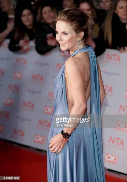 Geri Horner attends the National Television Awards 2018 at the O2 Arena on January 23 2018 in London England