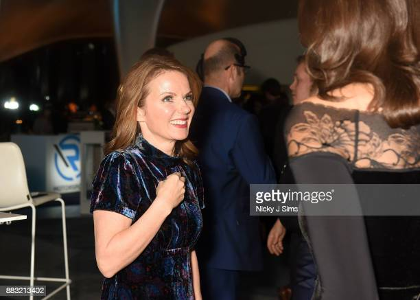 Geri Horner attends the R Motorsport Launch at the Serpentine Magazine Gallery on November 30 2017 in London England