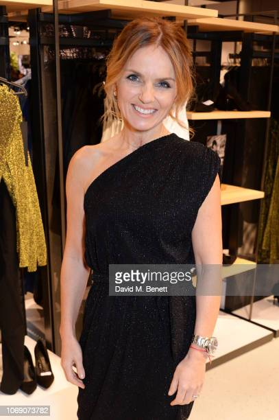 Geri Horner attends the VIP launch of the limited edition Reserved x British Vogue capsule collection on December 6 2018 in London England