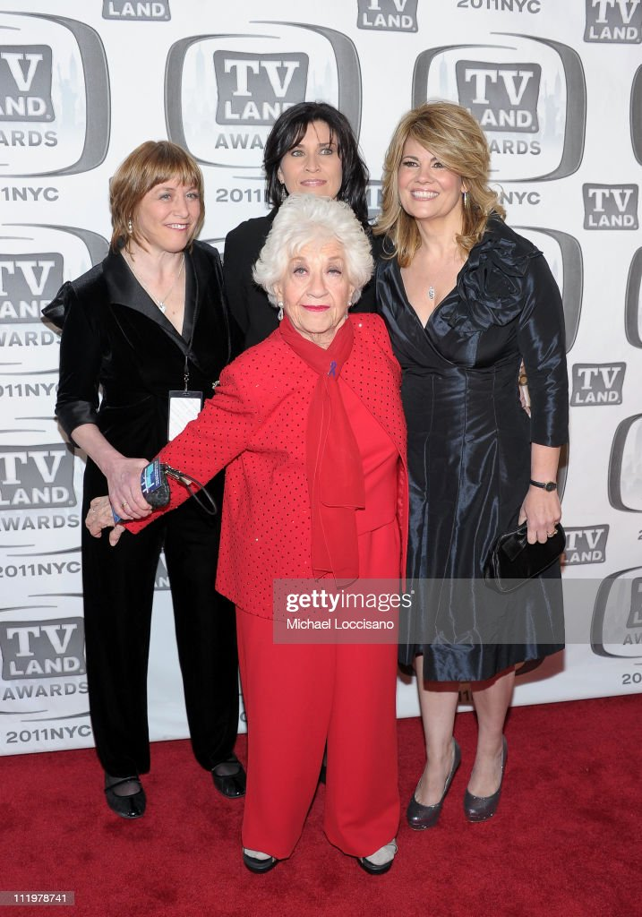Geri Jewell, Charlotte Rae, Nancy McKeon and Lisa Whelchel attend the 9th Annual TV Land Awards at the Javits Center on April 10, 2011 in New York City.