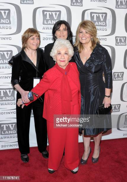 Geri Jewell, Charlotte Rae, Nancy McKeon and Lisa Whelchel attend the 9th Annual TV Land Awards at the Javits Center on April 10, 2011 in New York...