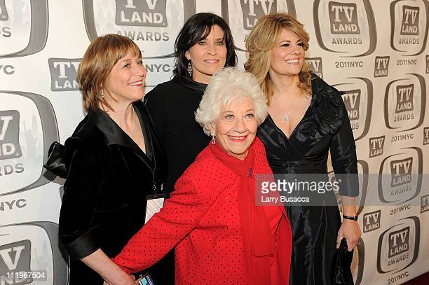 Geri Jewell Nancy McKeon Charlotte Rae and Lisa Whelchel attend the 9th Annual TV Land Awards at the Javits Center on April 10 2011 in New York City