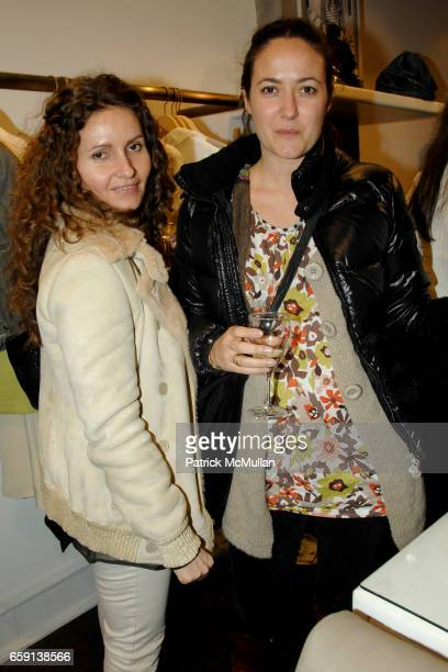 Geri Kuhn and Stephanie Zeleau attend JEROME DREYFUSS Fall/Winter 2009 Collection at LUDIVINE Uptown at Boutique Ludivine on February 19 2009 in New...