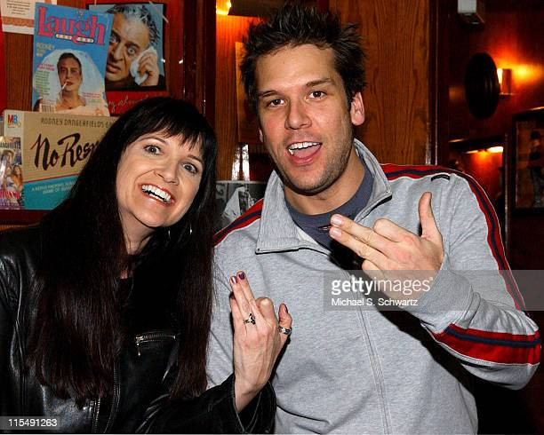 Geri Mars and Dane Cook during Freddy Soto Benefit at the Laugh Factory Starring Dane Cook November 16 2005 at The Laugh Factory in West Hollywood...