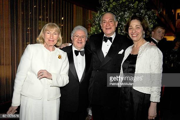 "Geri Singerman, Leon Hertz, Martin Singerman and Susan Katz attend Literacy Partners Hosts Annual Gala, ""An Evening of Readings"" Honoring David and..."