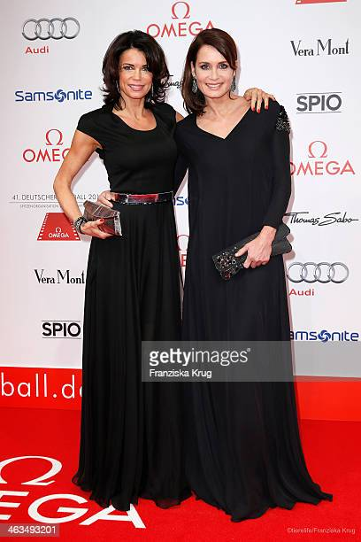 Gerit Kling and Anja Kling attend the German Film Ball 2014 on January 18, 2014 in Munich, Germany.